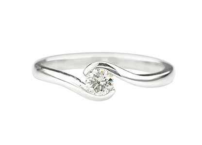diamond crossover standingcrop channel brilliant carat round ring stunning set packshot cut rings