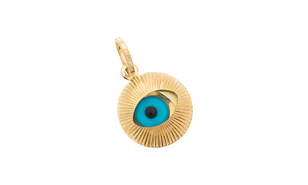 9ct gold evil eye pendant charm cm00108 city of london jewellers 9ct gold evil eye pendant charm cm00108 aloadofball Choice Image